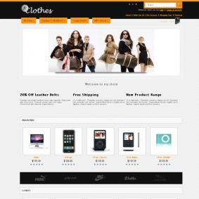 Fc Clothes Premium Opencart  Theme